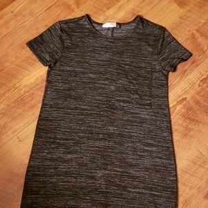Cotton dress with crew neckline.  Size small